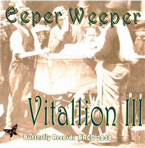 Eeper Weeper by Vitallion III - Album Cover